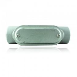 Conduleta CROUSE HINDS Serie 7 NEMA3R Forma - C 1 1-2 Pulg En Aluminio - 640604-C-57 CG C-TAPA Y EMP