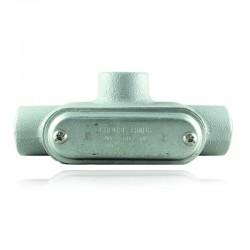 Conduleta CROUSE HINDS Serie 7 NEMA3R Forma - T 1 En Aluminio - 640642-T-37 CG C-TAPA Y EMP