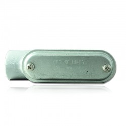 Conduleta CROUSE HINDS Serie 7 NEMA3R Forma - LB 2 En Aluminio - 640615-LB-67 CG C-TAPA Y EMP