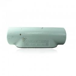 Conduleta CROUSE HINDS Serie 7 NEMA3R Forma - C 3-4 Pulg En Aluminio - 640601-C-27 CG C-TAPA Y EMP