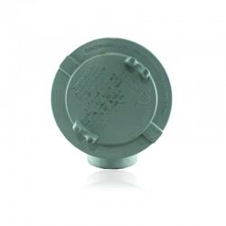 Caja Crouse Hinds Gua Redonda Forma - Ab De 2 Pulg- Con Tapa Roscada 5 Pulg-