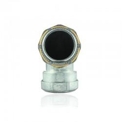Conector Coraza Liquid - Curvo 1 1-2 Pulg-