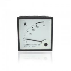 Amperimetro 0-200V 96 X 96 Mm