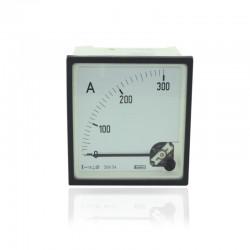 Amperimetro 0-300V 96 X 96 Mm