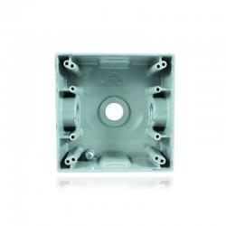 Caja Crouse Hinds Fundición Aluminio 2400 Con Salida 1-2 Pulgadas 3 Huecos - TP 7086