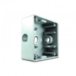 Caja Tipo Radweld 2400 con salida 1-2 Pulgadas 3 Huecos
