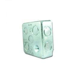 Caja Metalica Galvanizada de 2400 Cuadrada