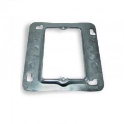 Suplemento Metalico Galvanizado para caja cuadrada de 2 400 Cal 20 - 33-15-24-26