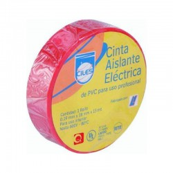 Cinta Aislante Rojo X 15 mts