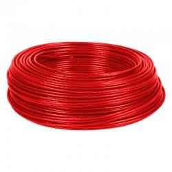 Alambre de Cobre Aislado THHN No 10 Rojo de METRO - 8710