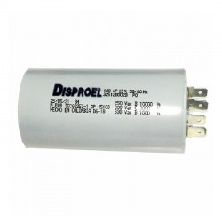 Condensador para Luminaria de 10 uF a 250 Vac DISPROEL
