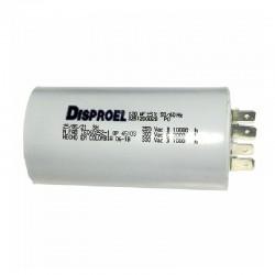 Condensador para Luminaria de 40 uF a 350 Vac DISPROEL