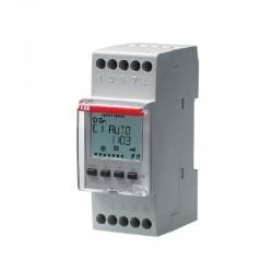 Interruptor con Horario ABB D2 Digital semanal-diario 2 Contactos conm - Ref: 2CSM256313R0621
