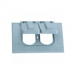 Tapa CROUSE HINDS Para Toma Doble Con Empaque - TP 7207