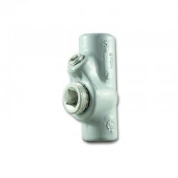 Sello Cortafuego CROUSE HINDS de 2 Pulg Hembra uso Vertical - horizontal en Aluminio con Pintura Gris - EYS-6