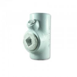 Sello Cortafuego CROUSE HINDS de 1-2 Pulg Hembra uso Vertical - horizontal en Aluminio con Pintura Gris - EYS11SA -.
