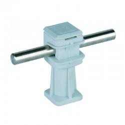Soporte DEHN SNAP Plastico  H36  Grau M6 Gris Largo    - 204003