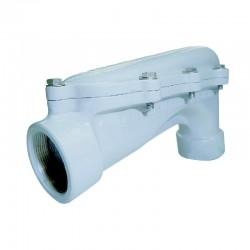 Codo Aluminio 3 Pulgadas Con Tapa Sesgada - LBH 300