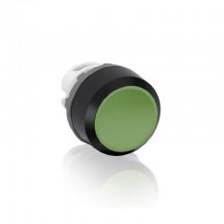 Cabeza ABB de Pulsador Rasante MP1-10G Momentaneo  Verde  - 1SFA611100R1002