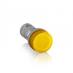 Piloto ABB de Señalizacion con Led Incluido de Color Amarillo 230Vac - Ref: 1SFA619403R5233-CL-523Y