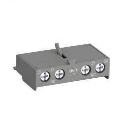 Bloque de Contactos ABB para Guardamotor HKF1-11 1NA-1NC - Ref: 1SAM201901R1001