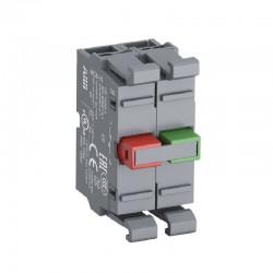Bloque de Contactos ABB Linea Modular 22mm 1Na-1Nc - Ref: 1SFA611610R1011