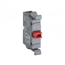 Bloque de Contactos ABB Linea Modular 22mm 1Nc - Ref: 1SFA611610R1010