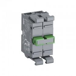 Bloque de Contactos ABB Linea Modular 22mm 2NA - Ref: 1SFA611610R1002
