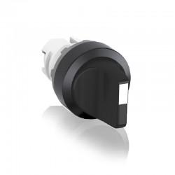 Cabeza ABB de Selector 3 Posiciones - Mantenido Color Negro - Ref: 1SFA611210R1006