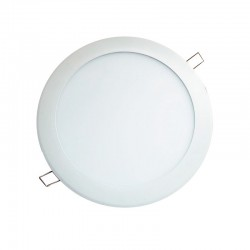 Panel Redondo de incrustar LED 12W DL - Ref: P24337-30