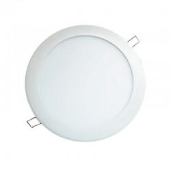 Panel Redondo de incrustar LED 9W DL - Ref: P24336-30