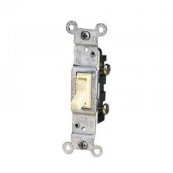 Interruptor LEVITON Sencillo Blanco Tradicional - 1451-ICP