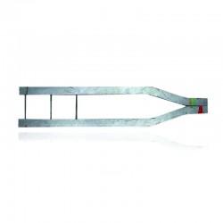 Bayoneta para Retencion Doble 2 1-2 x 3-16 x 1 50 mts