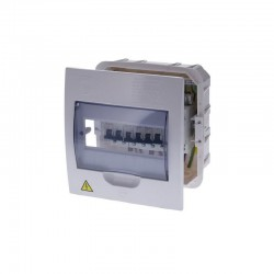 Tablero CILES Monofásico Para Breaker Riel 8 Circuitos Al-Cu 75A - 730302U
