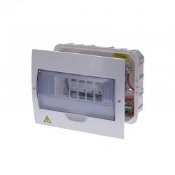 Tablero CILES Bifásico Para Breaker Enchufable 8 Circuitos Al-Cu 75A - 220V AL-CU 730003B