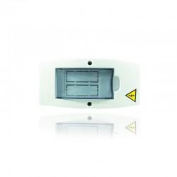 Caja Ciles Sobreponer Monofásica Enchufar 1 Y 2 Ctos - PT730009U