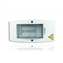 Caja Ciles Sobreponer Bifásica Enchufar 1 Y 2 Ctos - PT730009B