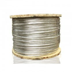Cable de Aluminio Desnudo No 4-0 ACSR Metro