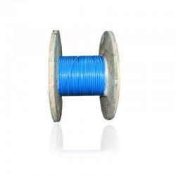 Cable de Cobre Aislado No 6 AWG Metro THHN Color Azul