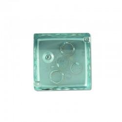 Caja Metalica Galvanizada (Ref 2400) Cuadrada