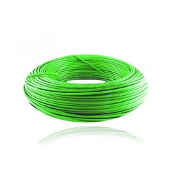 Cable de Cobre Aislado No 12 de METRO - THHN Color Verde