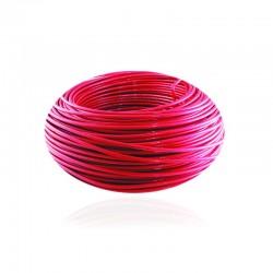 Cable de Cobre Aislado No 10 de METRO - THHN Color Rojo