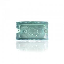 Caja Metilica Galvanizada de Ref: 5800 para Interruptores y Tomas