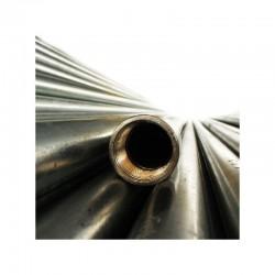 Tubo Metalico IMC Conduit Galvanizado de 1 1-4 Pulgadas x 3 mts Con Union