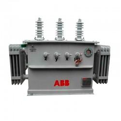 Transformador Trifasico en Aceite de 15 KVA 13 200 v - 208-120 v ABB Ref: UBA0053