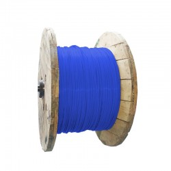 Cable de Cobre Aislado No 6 AWG Metro LIBRE DE HALOGENOS Color Azul