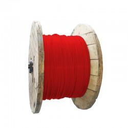 Cable de Cobre Aislado No 6 AWG Metro LIBRE DE HALOGENOS Color Rojo