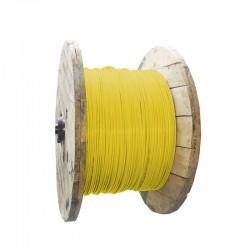 Cable de Cobre Aislado No 6 AWG Metro THHN Color Amarillo