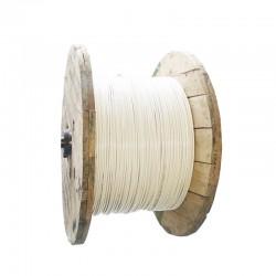 Cable de Cobre Aislado No 6 AWG Metro THHN Color Blanco