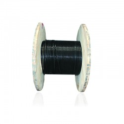 Cable de Cobre Aislado No 6 AWG Metro THHN Color Negro